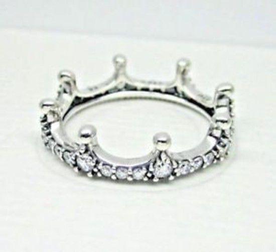 Anel De Coroa Encantada Prata925