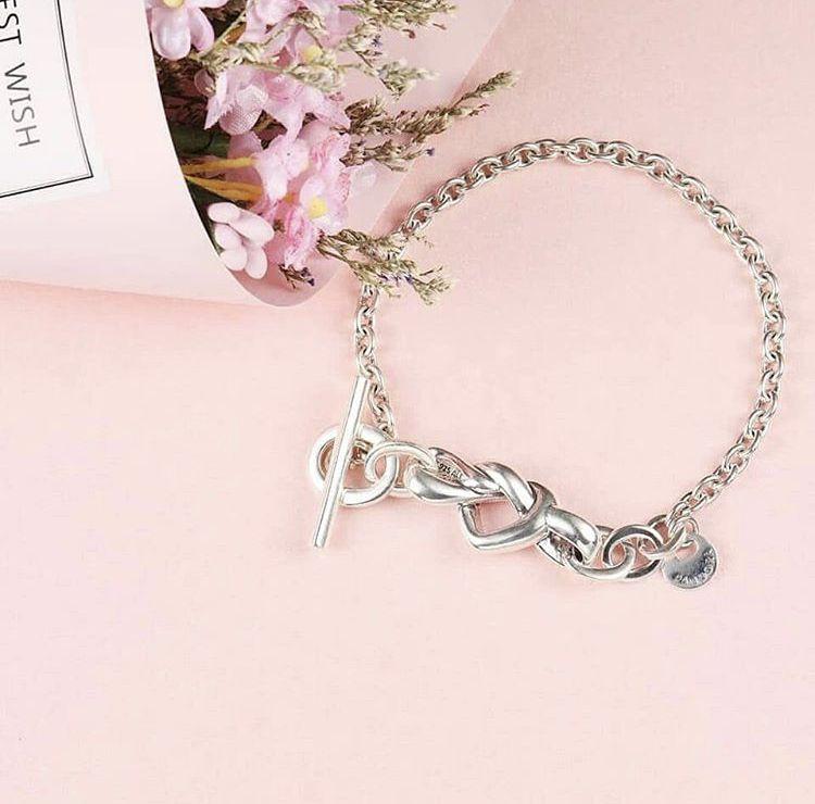 Bracelete Amor que Une Prata925