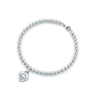 Bracelete Coração Tiffa Prata925