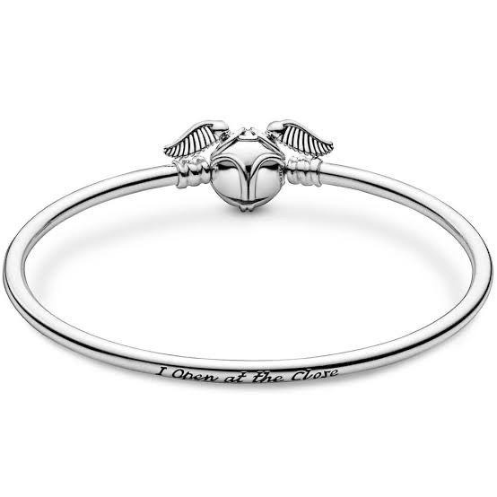 Bracelete Harry Potter Rígido Prata925
