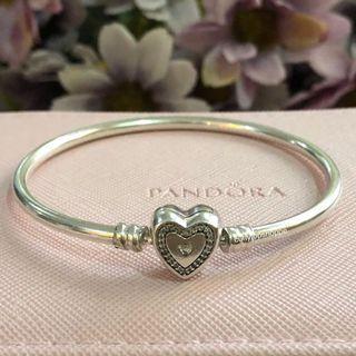 Bracelete Momentos Do Coração Prata925