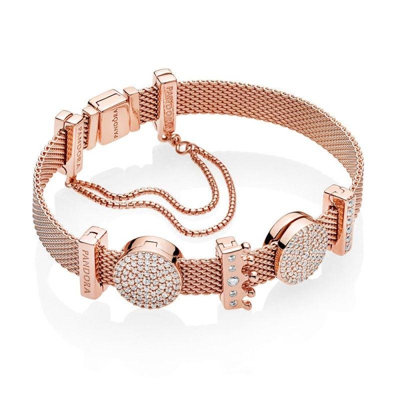 Bracelete Reflexions Banho Rosê