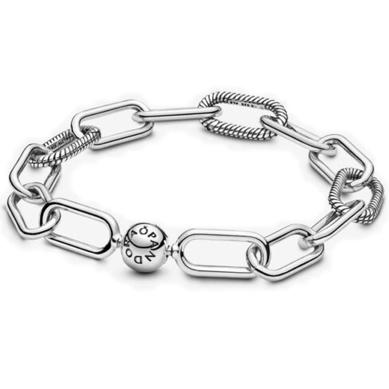 Encomende 12%OFF!!!Bracelete Link Pandora Me  Prata925