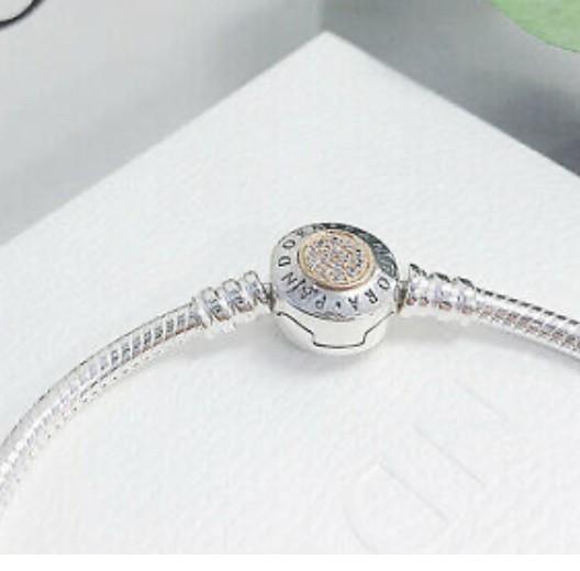Bracelete Signature em Prata925 e Ouro