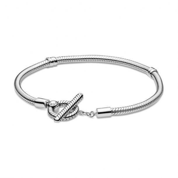 Bracelete T-Bar Prata925