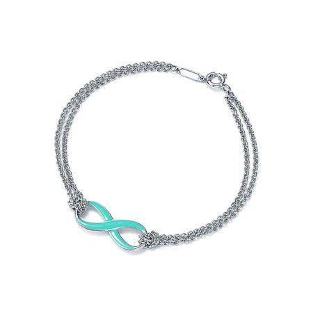 Bracelete Tiffa Infinito Prata925