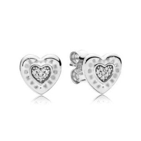 Brincos Coração Do Amor Prata925