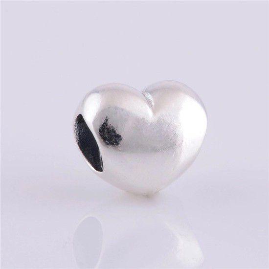 Charm Amor Do Coração Prata925