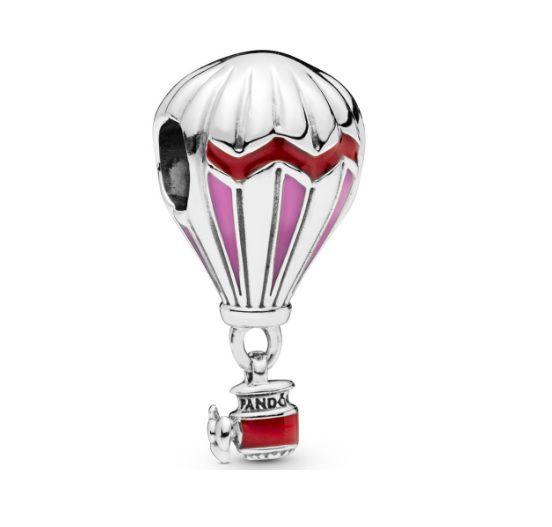 Charm Amuleto de Balão Prata925