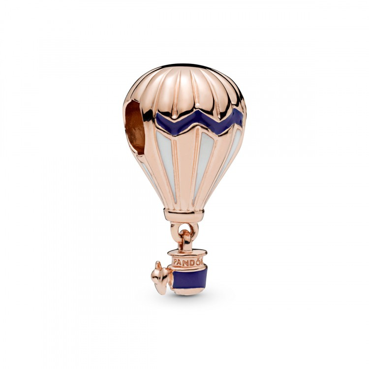 Charm Balão de Ar Rosê Prata925