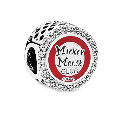 Charm Clube Do Mickey Prata925