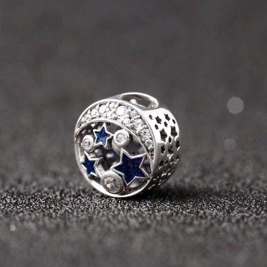 Charm Contando Estrelas  Prata925