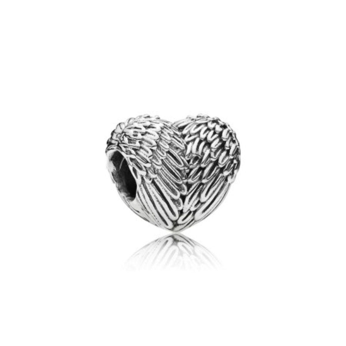 Charm Coração de Anjo Prata925