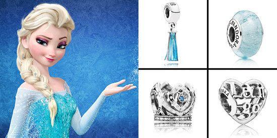 Charm Coração 'Let It Go' Frozen Prata925