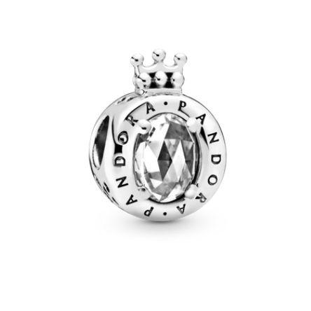 Charm Coroa Cintilante Prata925