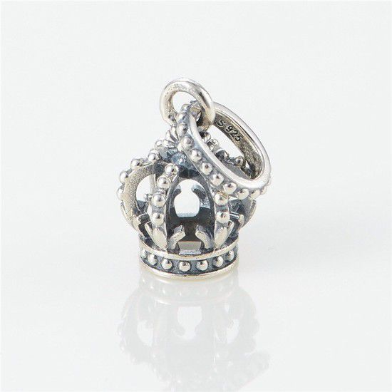 Charm Coroa Real Prata925