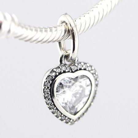 Charm Loving Hearts Prata925