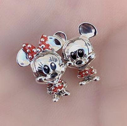 Charm Minnie Baby prata925 (Cód 2689)