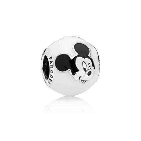 Charm Mickey Expressivo Prata925