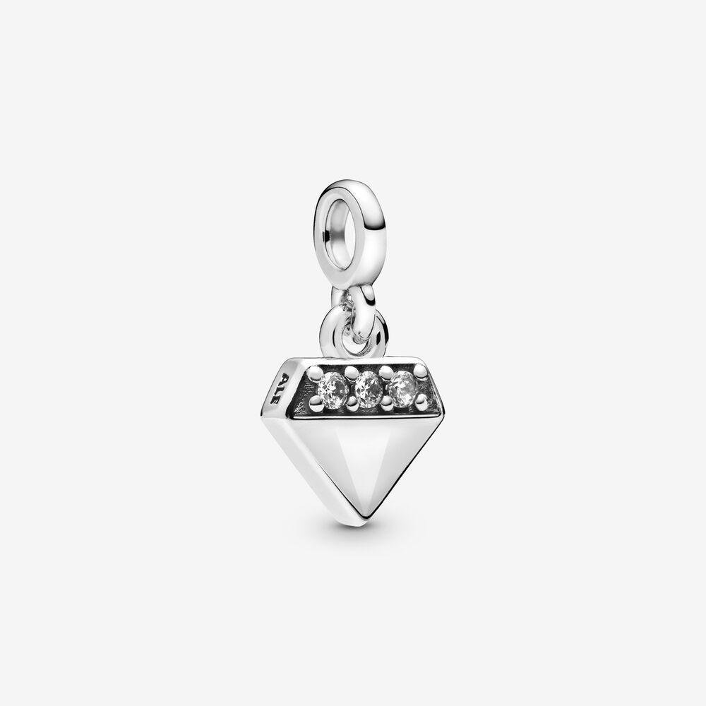 Charm Pandora Me Diamante Prata925