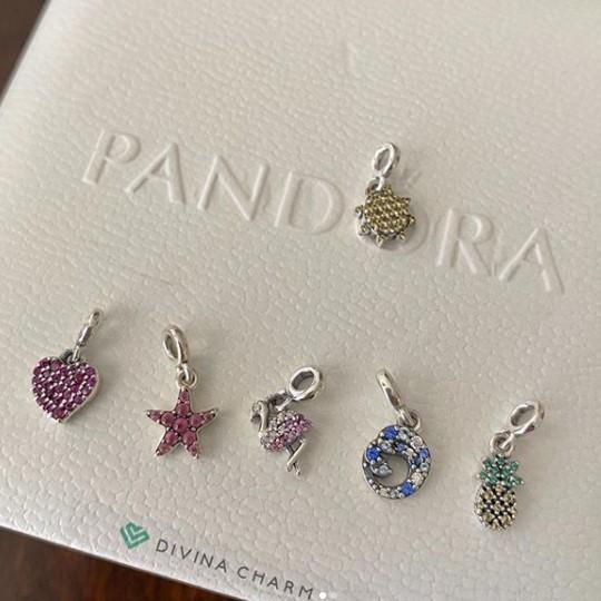 Charm Pandora Me Estrela do Mar Prata925