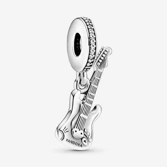 Charm Pendente Guitarra Prata925