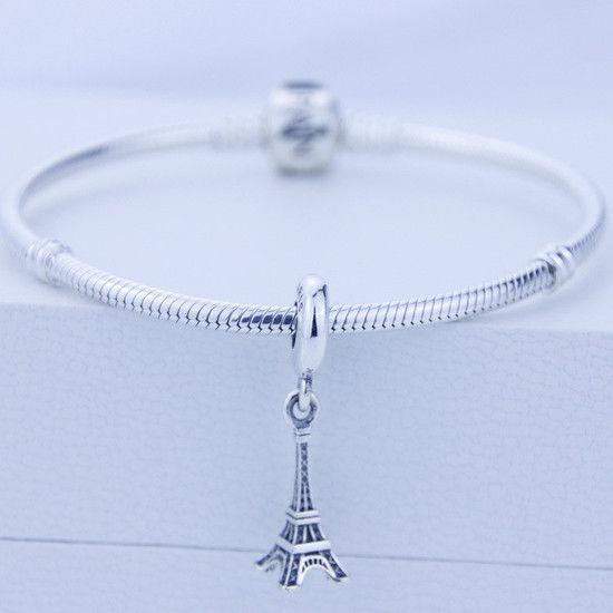 Charm Pendente Torre Eiffel Prata925 (Cód 031)