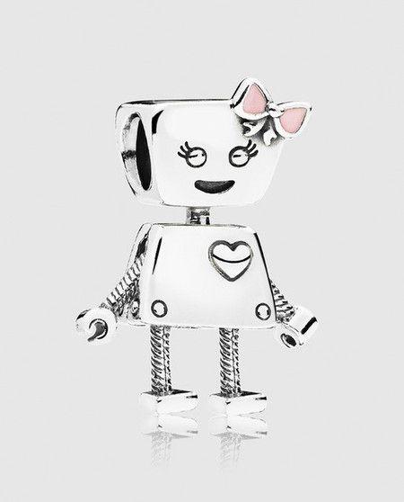 Charm Robo Bella Prata925