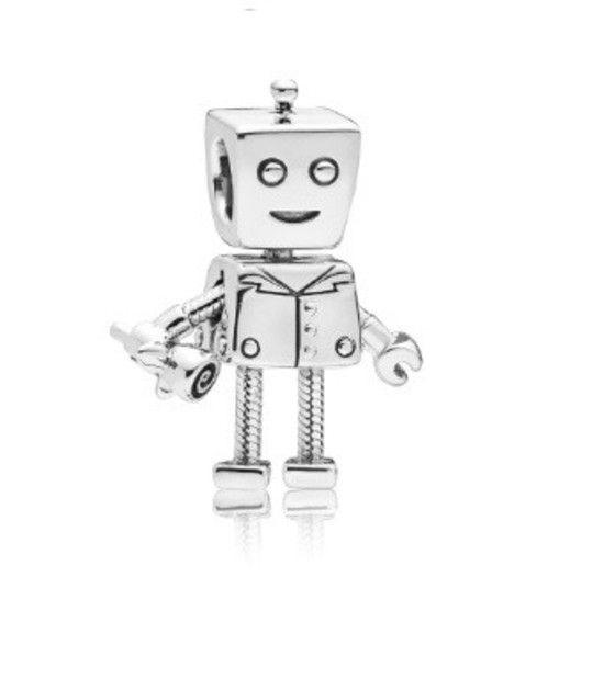 Berloque Robô Prata925