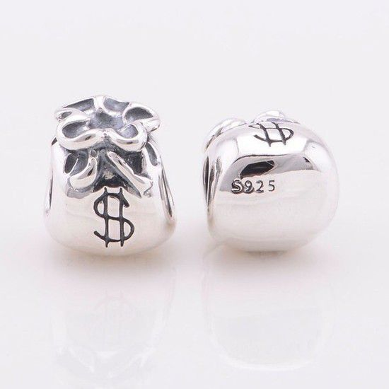 Charm Saquinho De Dinheiro Prata925 (Cód 101)