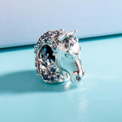 Charm de Cavalo Frozen Prata925
