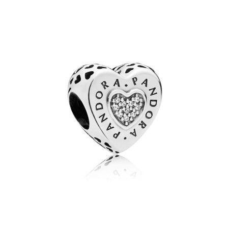 Charms Coração Do Amor Prata925