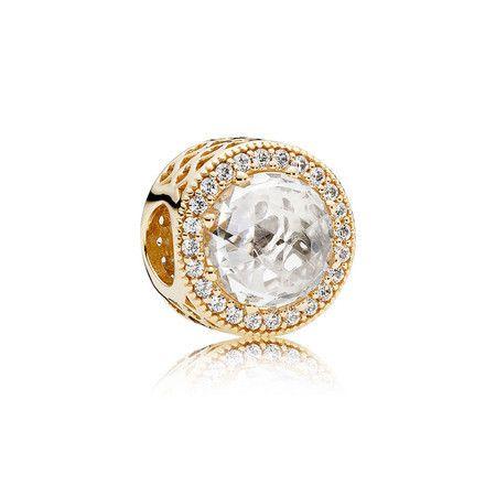 Encomende 12%Off!!! Charms Coleção Shine Banho Ouro18k (Cód 1177)