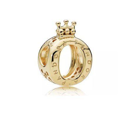 Encomende 12%Off!!! Charms Coleção Shine Banho Ouro18k