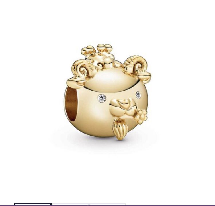Encomende 12%Off!!! Charms Coleção Shine Prata925 com Banho Ouro 18K   (Cód 2621)
