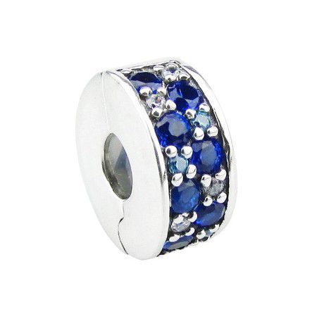 Encomende Com 12%Off!!!Charms Clipes Pavês Elegância (Cód.925)