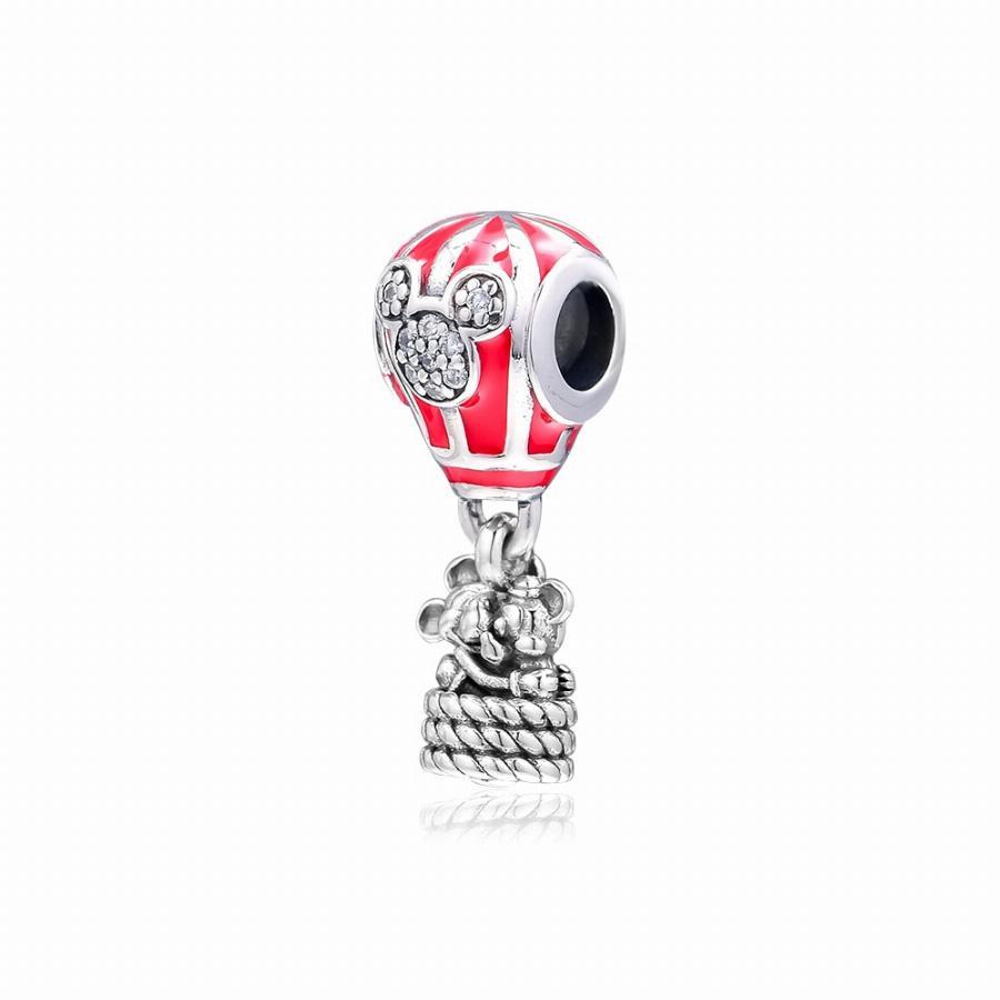 Pendente Balão Mickey e Minnie Disney Prata925