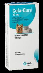 Antibiótico MSD Cefa Cure para Cães e Gatos