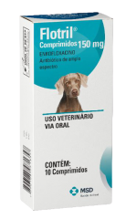 Antimicrobiano MSD Flotril 150 mg - 10 Comprimido