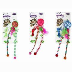 Brinquedo Pawise Polvo com Catnip - Cores Variadas