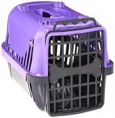 Caixa de Transporte Pet Injet Evolution para Cães Lilas