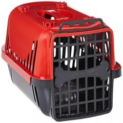 Caixa de Transporte Pet Injet Evolution para Cães - Vermelha