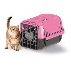 Caixa de Transporte Cats Evolution Rosa