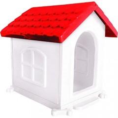 Casa Plast. Pet Injet Vermelha