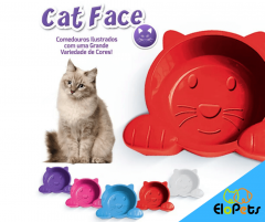 Comedouro Cat Face