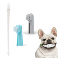 Kit Escova de Dente para Cachorro e Gato