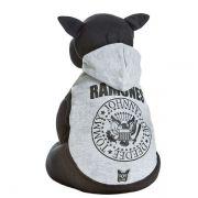 Moletom Dog Club Ramones - Cinza