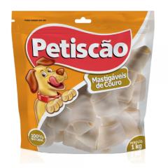 Osso Petiscão para Cães Nó 6/7  1kg