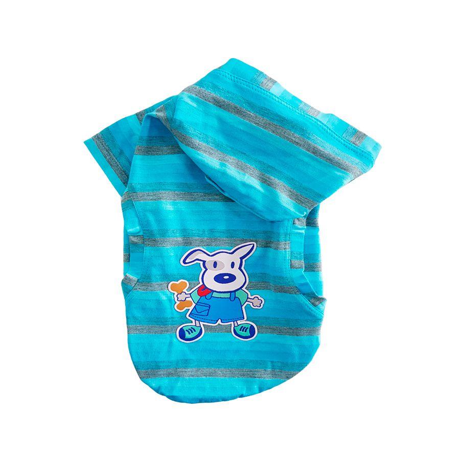 Agasalho Pickorruchos para Cães Cereja - Azul