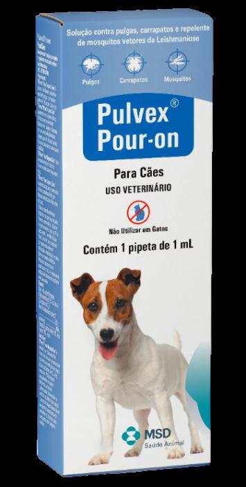 Antipulgas MSD Pulvex Pour-On para Cães até 15 Kg